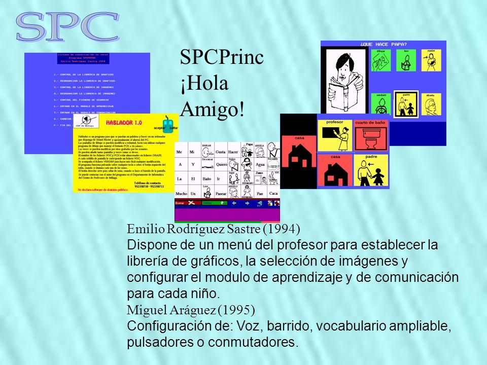 SPC SPCPrinc ¡Hola Amigo! Emilio Rodríguez Sastre (1994)