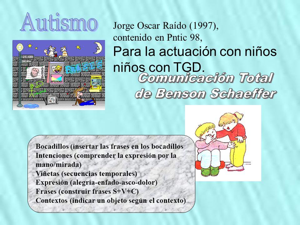 Autismo Comunicación Total de Benson Schaeffer