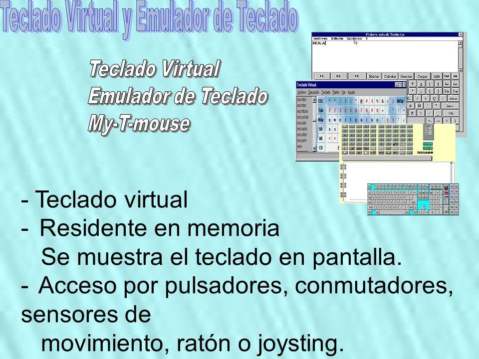 Teclado Virtual y Emulador de Teclado