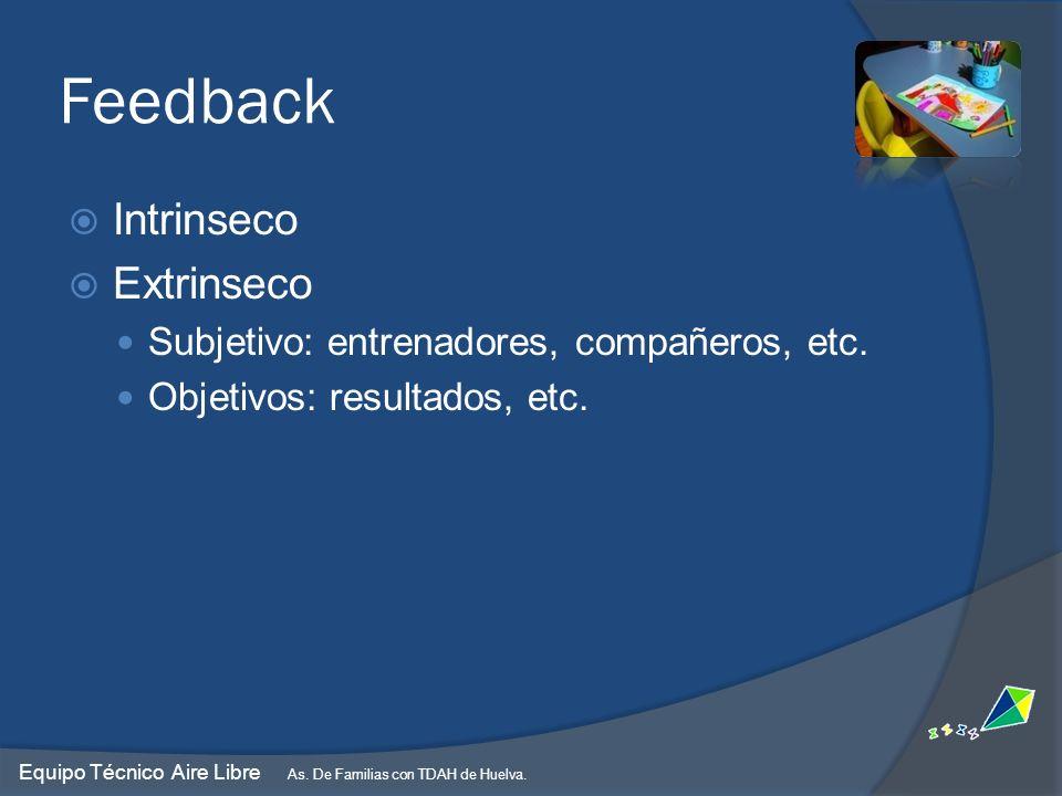 Feedback Intrinseco Extrinseco