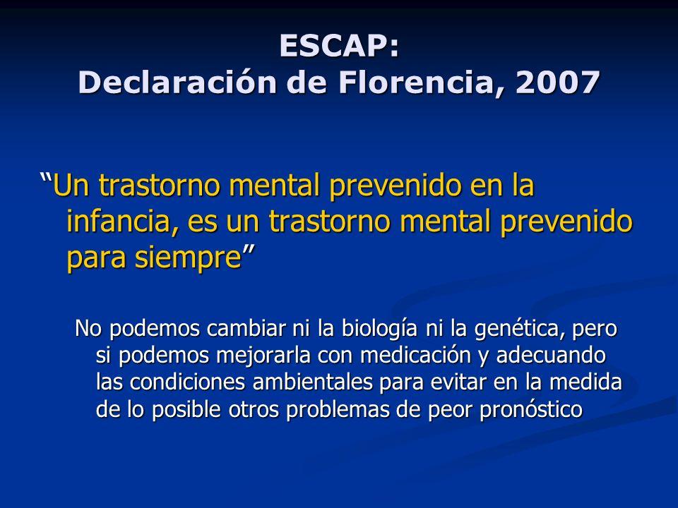 ESCAP: Declaración de Florencia, 2007