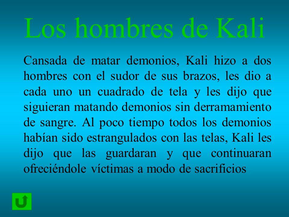 Los hombres de Kali