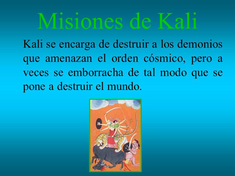 Misiones de Kali