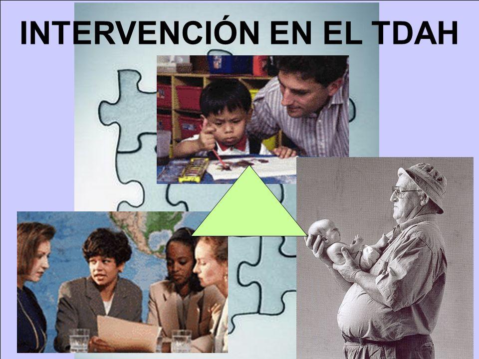 INTERVENCIÓN EN EL TDAH
