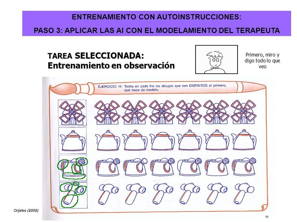 ENTRENAMIENTO CON AUTOINSTRUCCIONES: