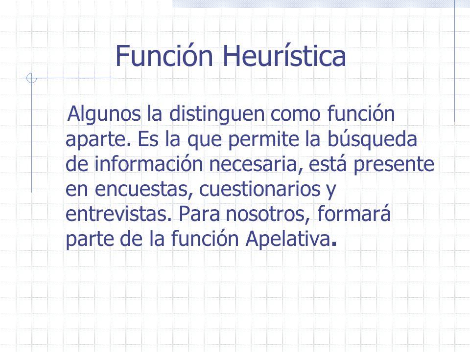 Función Heurística