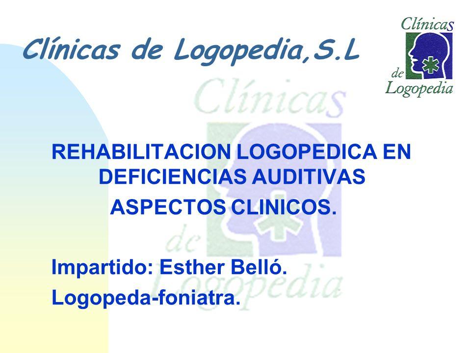 Clínicas de Logopedia,S.L