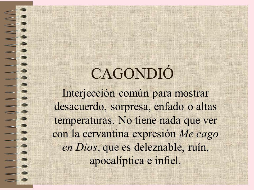 CAGONDIÓ