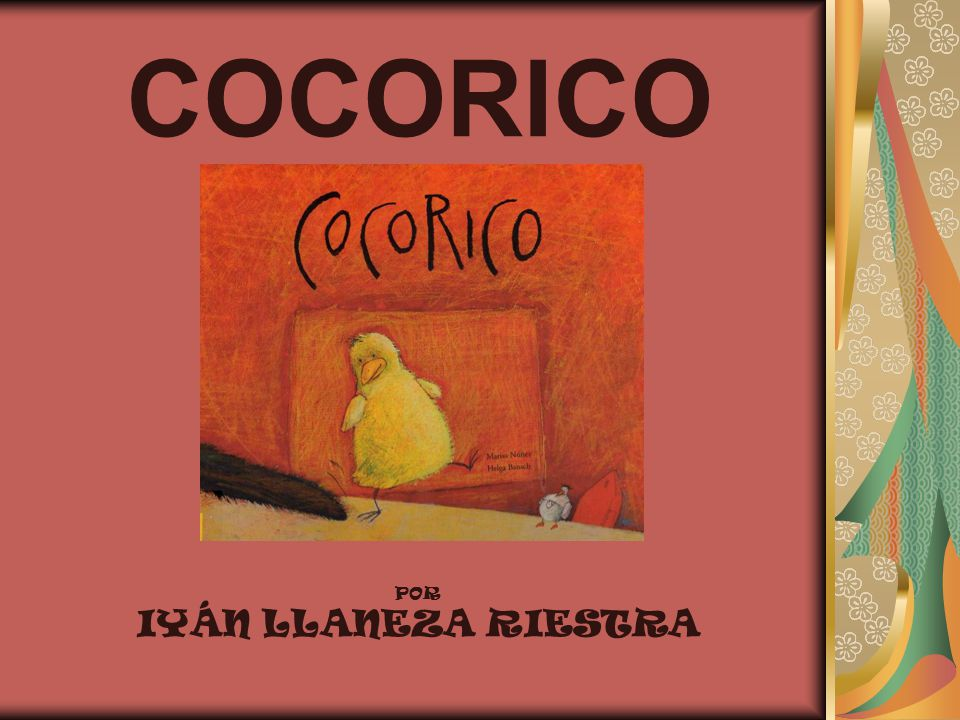 COCORICO POR IYÁN LLANEZA RIESTRA