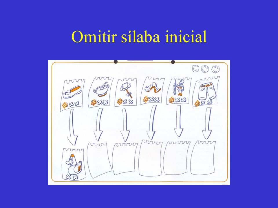 Omitir sílaba inicial