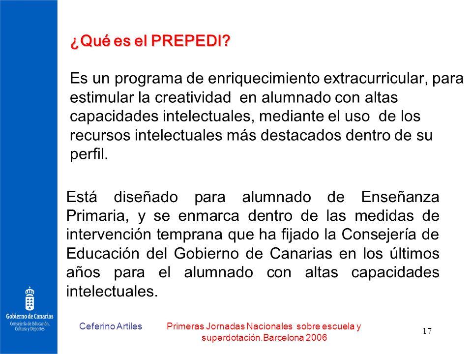 ¿Qué es el PREPEDI