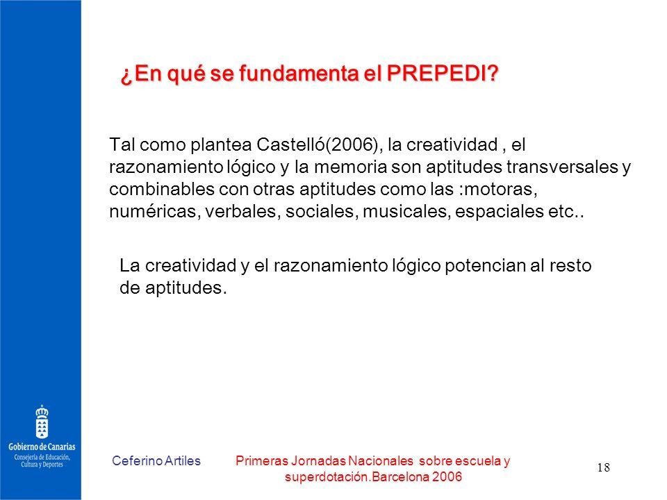 ¿En qué se fundamenta el PREPEDI