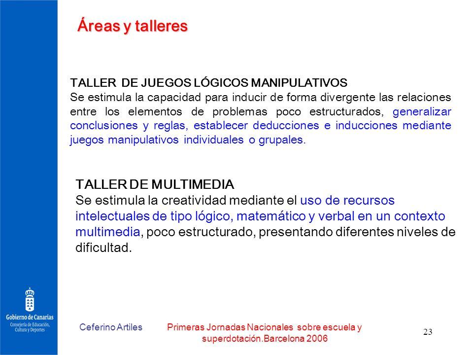 Áreas y talleres TALLER DE MULTIMEDIA