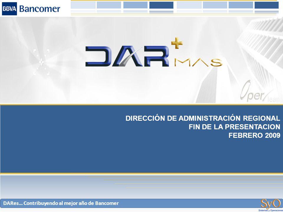 DIRECCIÓN DE ADMINISTRACIÓN REGIONAL