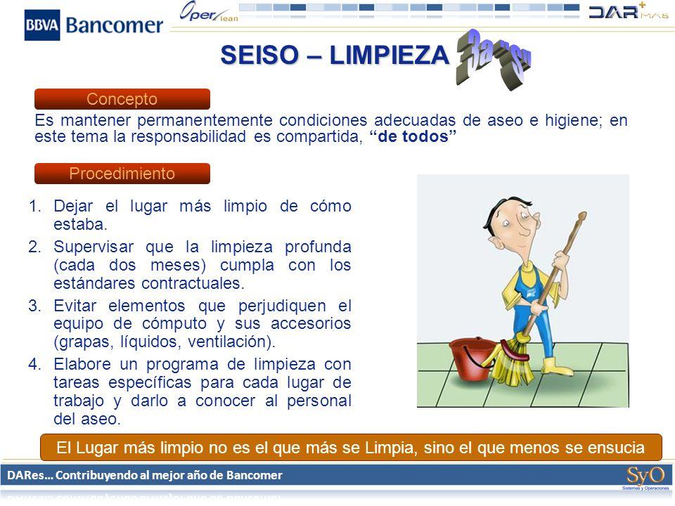 3a S SEISO – LIMPIEZA Concepto