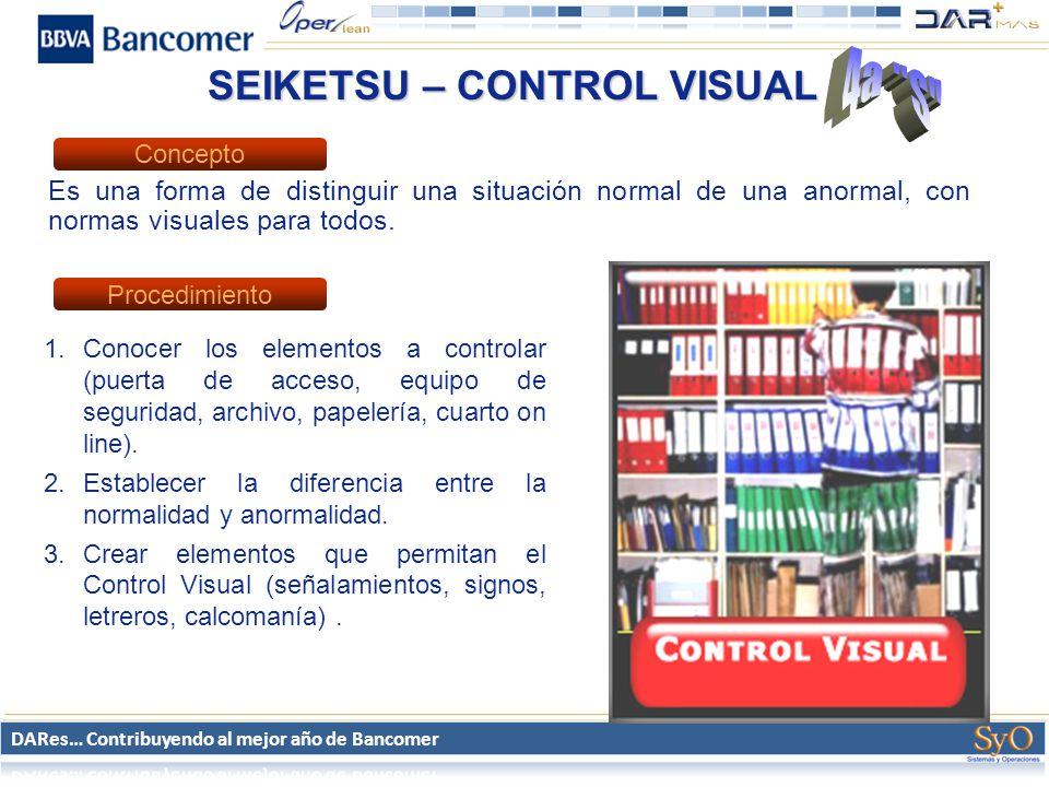 SEIKETSU – CONTROL VISUAL