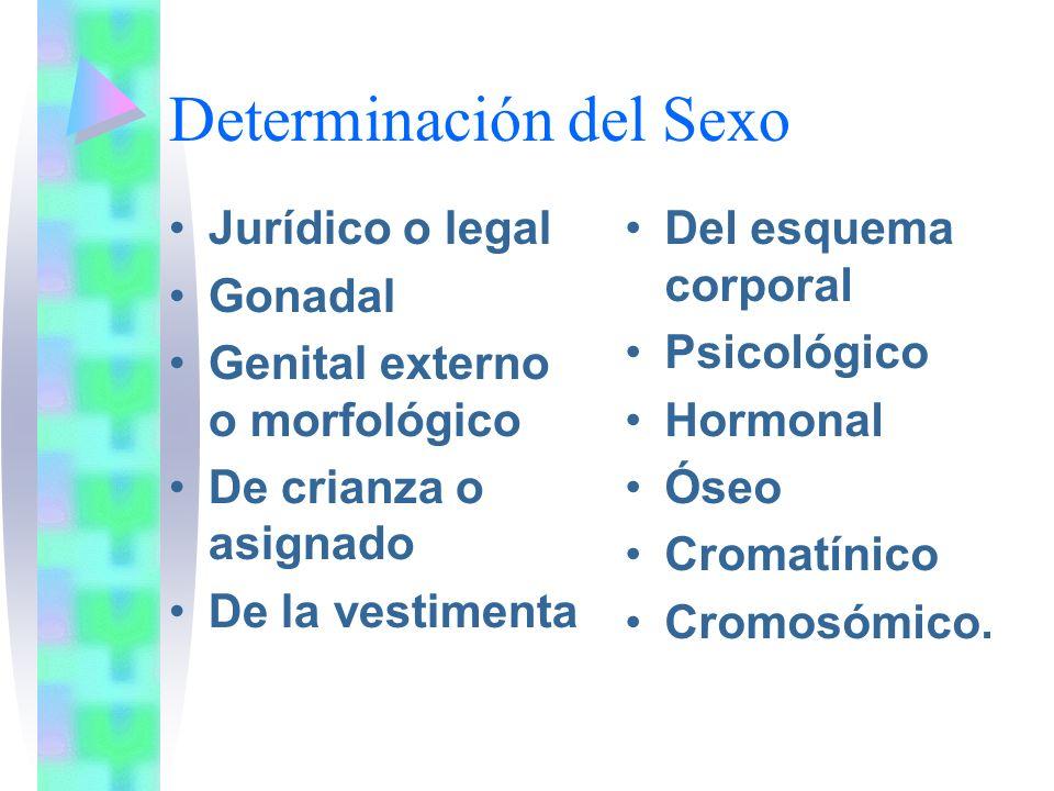 Determinación del Sexo