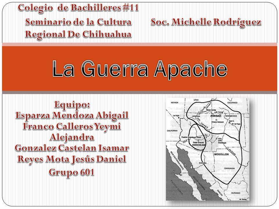 La Guerra Apache Colegio de Bachilleres #11