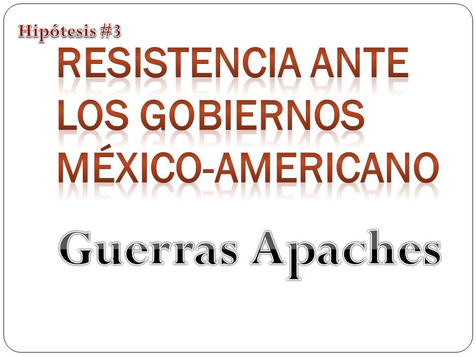 Resistencia ante los gobiernos México-Americano