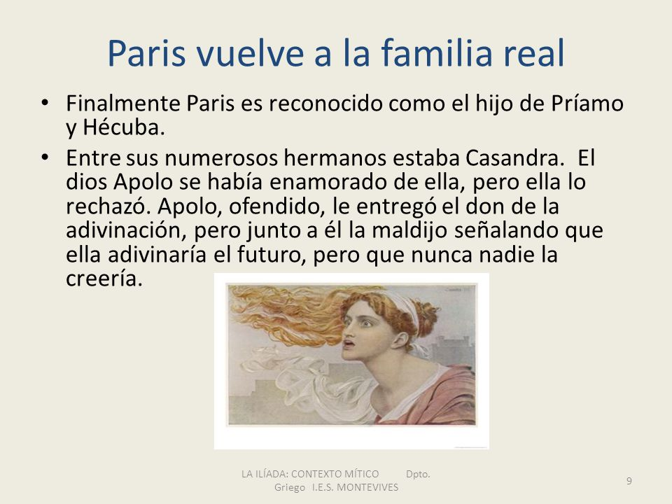 Paris vuelve a la familia real
