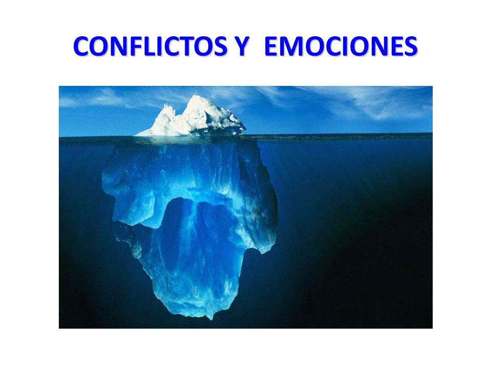 CONFLICTOS Y EMOCIONES
