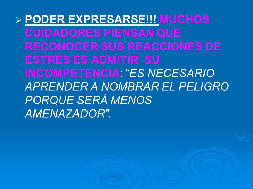 PODER EXPRESARSE!!.