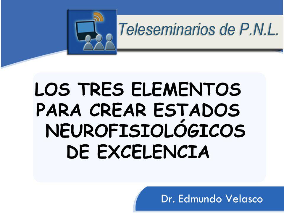 LOS TRES ELEMENTOS PARA CREAR ESTADOS NEUROFISIOLÓGICOS DE EXCELENCIA