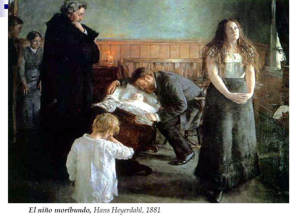 El niño moribundo, Hans Heyerdahl, 1881