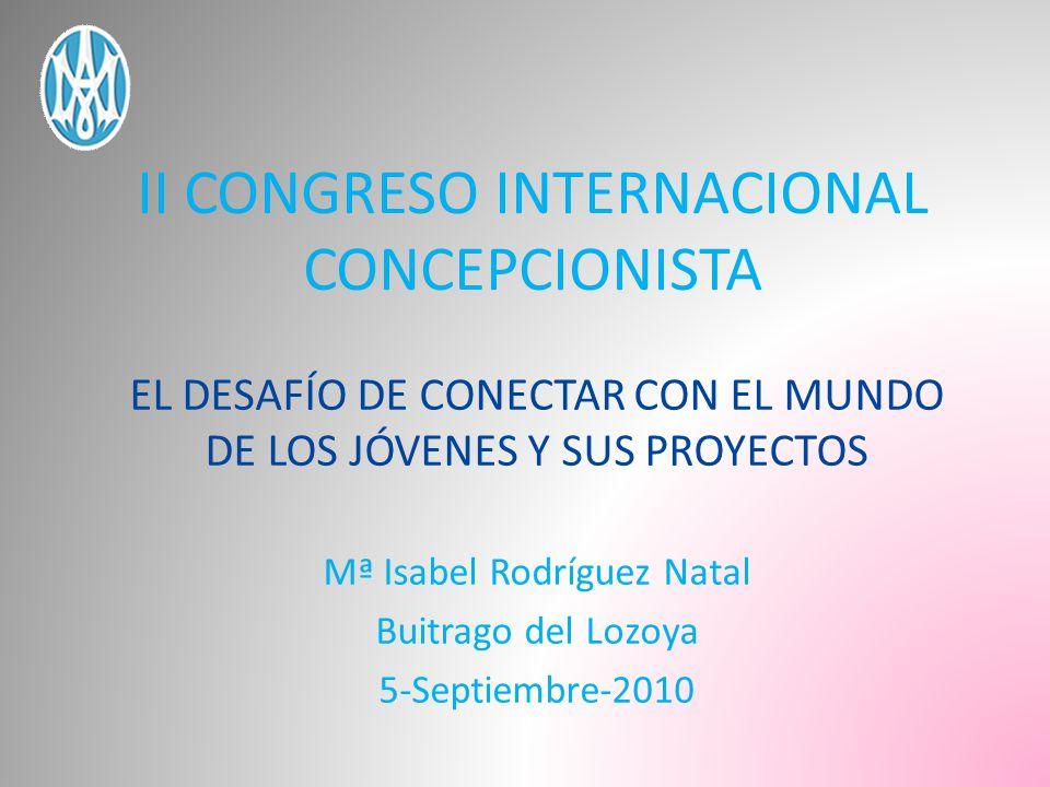 II CONGRESO INTERNACIONAL CONCEPCIONISTA
