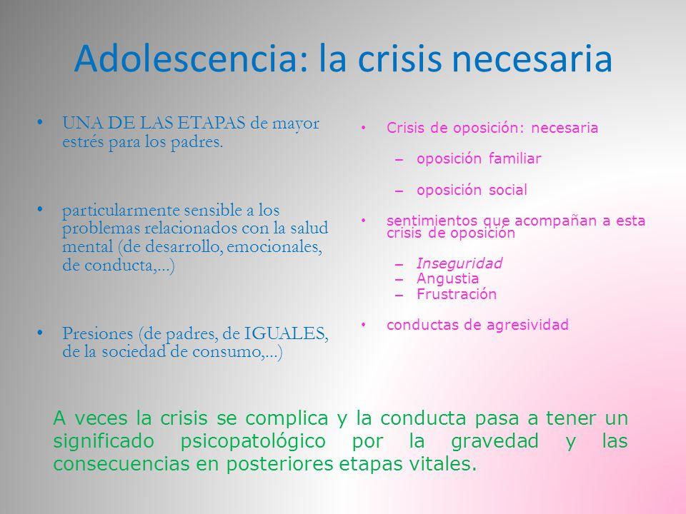 Adolescencia: la crisis necesaria