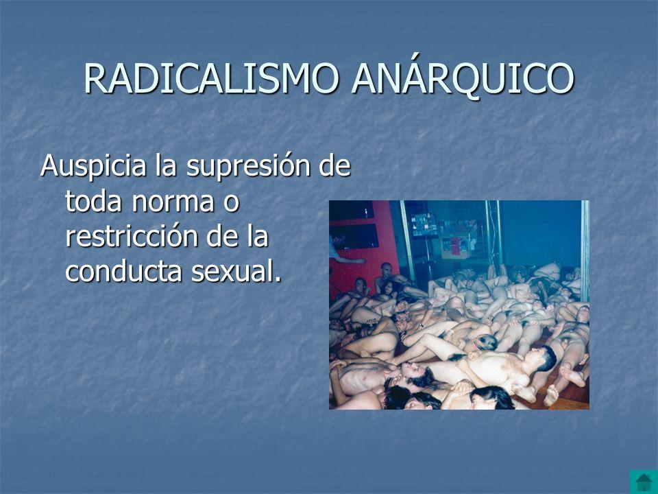 RADICALISMO ANÁRQUICO