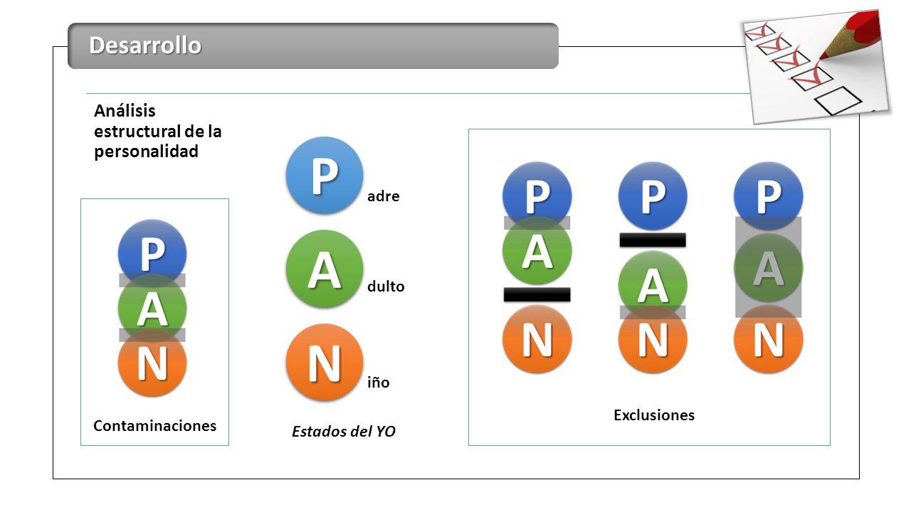 P A N Desarrollo Análisis estructural de la personalidad adre dulto