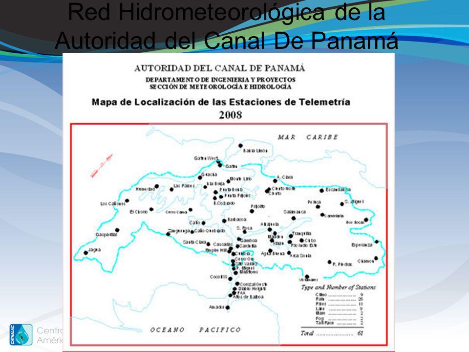 Red Hidrometeorológica de la Autoridad del Canal De Panamá