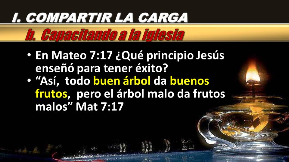 b. Capacitando a la iglesia