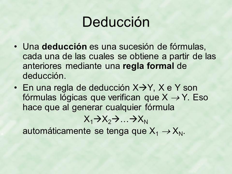 Deducción