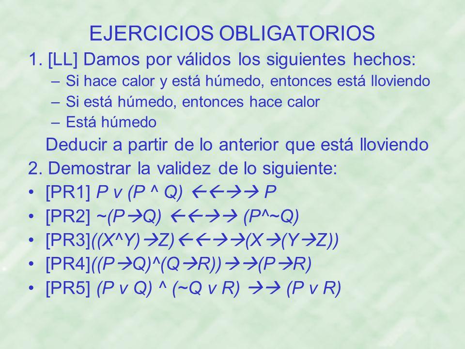 EJERCICIOS OBLIGATORIOS
