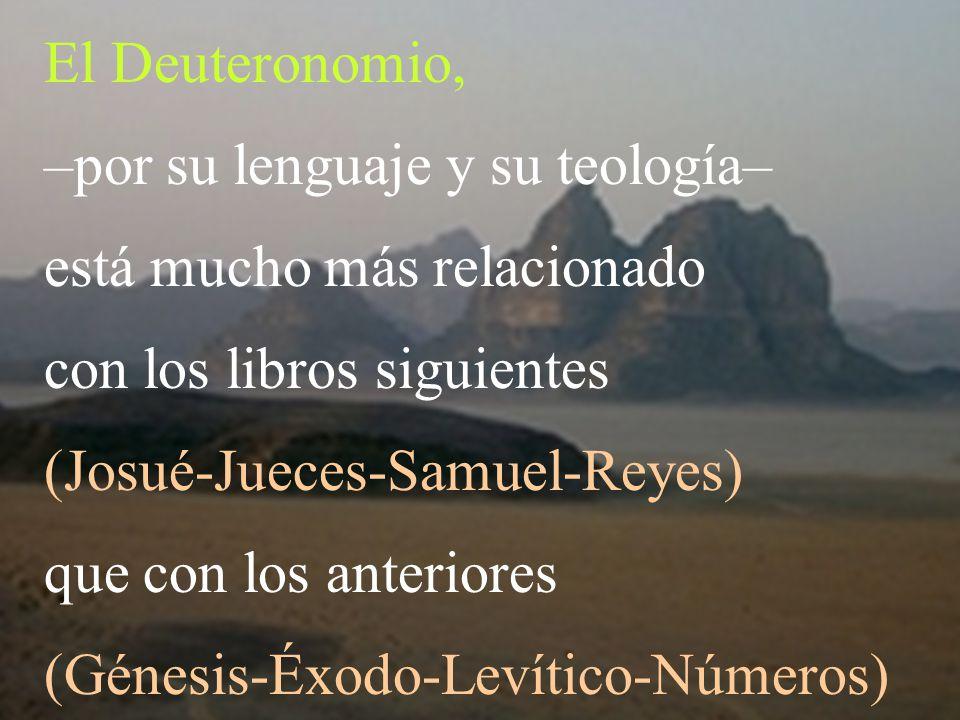 –por su lenguaje y su teología– está mucho más relacionado