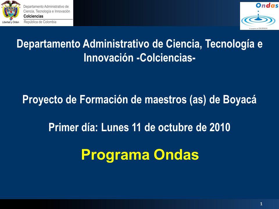 Departamento Administrativo de Ciencia, Tecnología e Innovación -Colciencias-