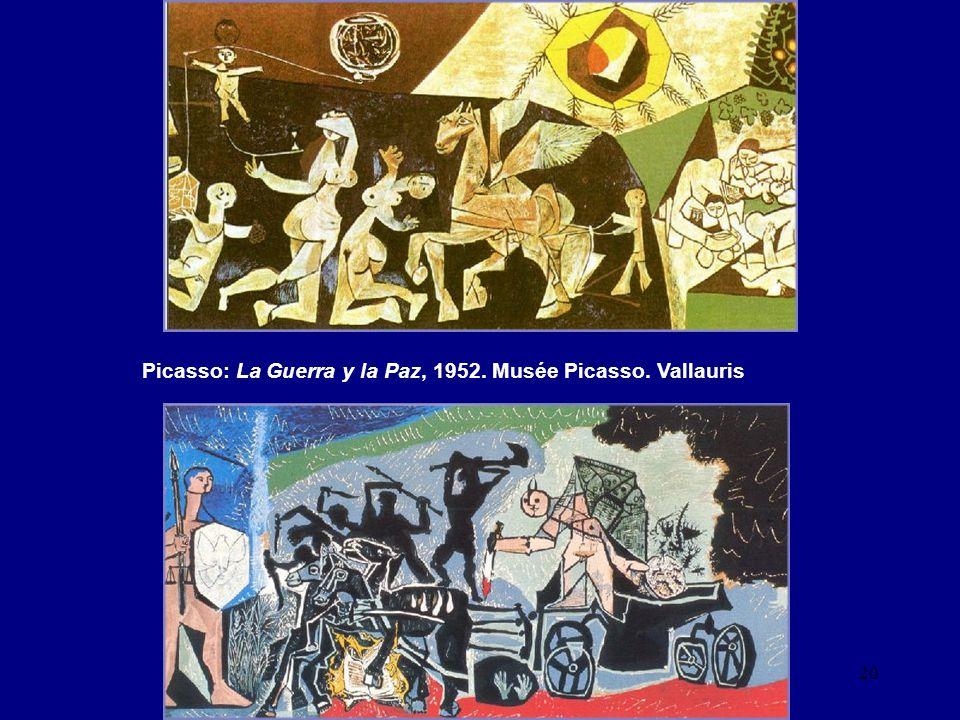 Picasso: La Guerra y la Paz, 1952. Musée Picasso. Vallauris