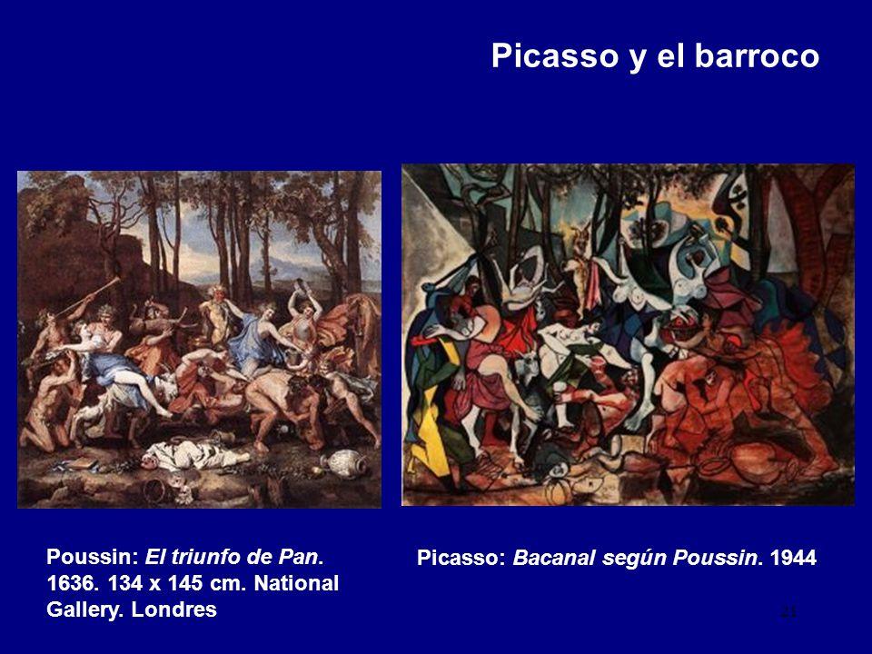 Picasso y el barroco Poussin: El triunfo de Pan. 1636.