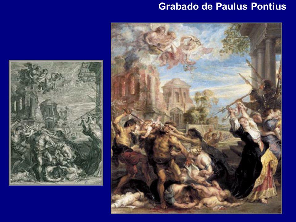 Grabado de Paulus Pontius