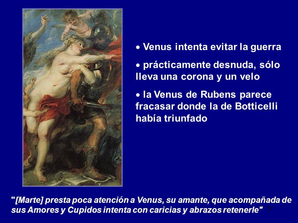 Venus intenta evitar la guerra