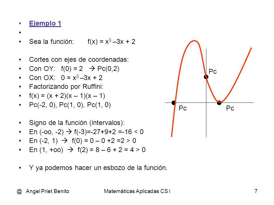Matemáticas Aplicadas CS I
