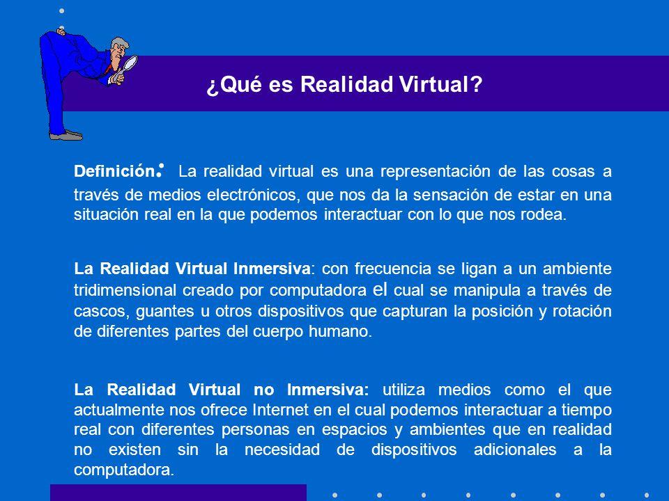 ¿Qué es Realidad Virtual