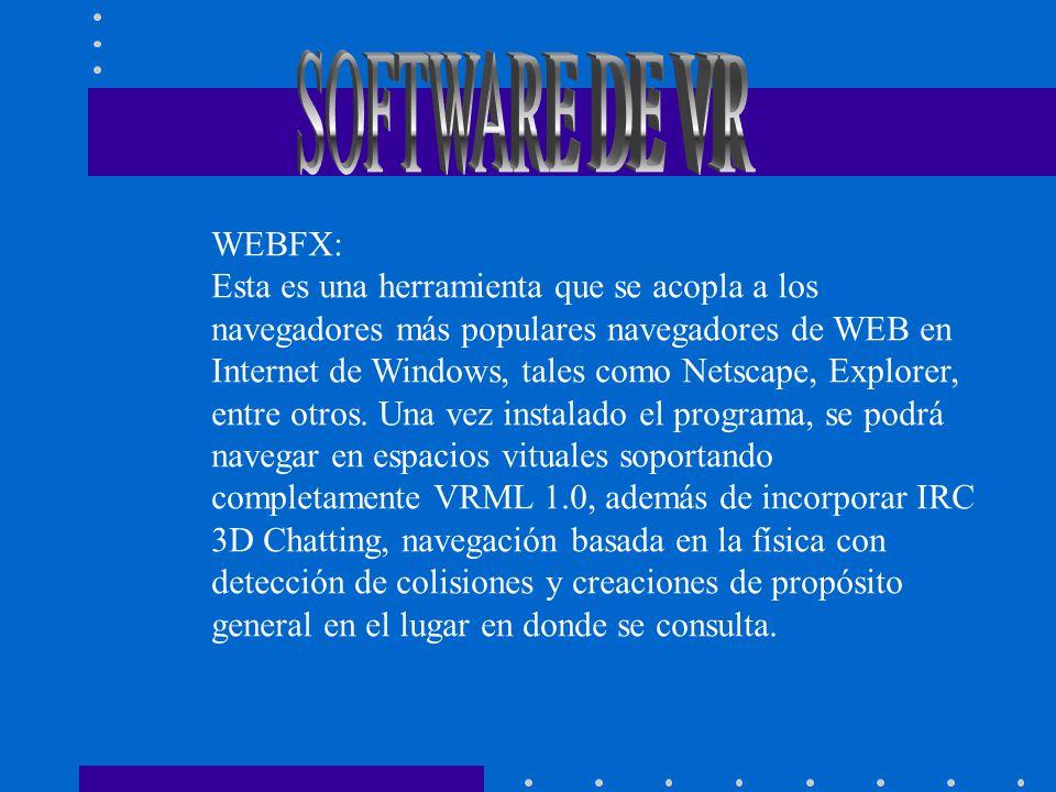 SOFTWARE DE VR