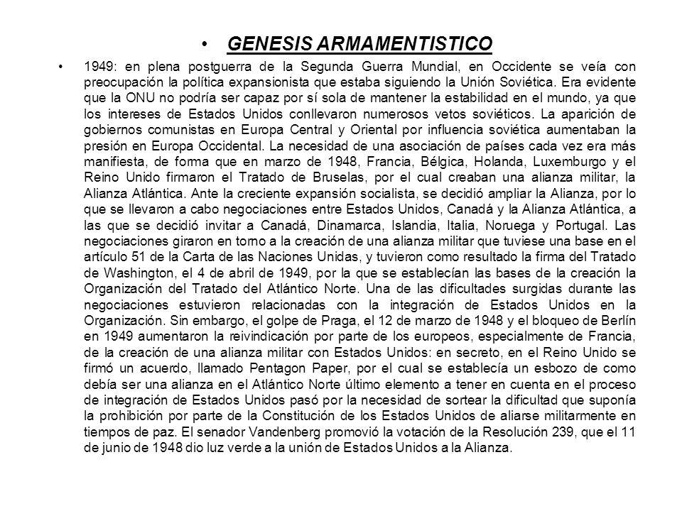 GENESIS ARMAMENTISTICO