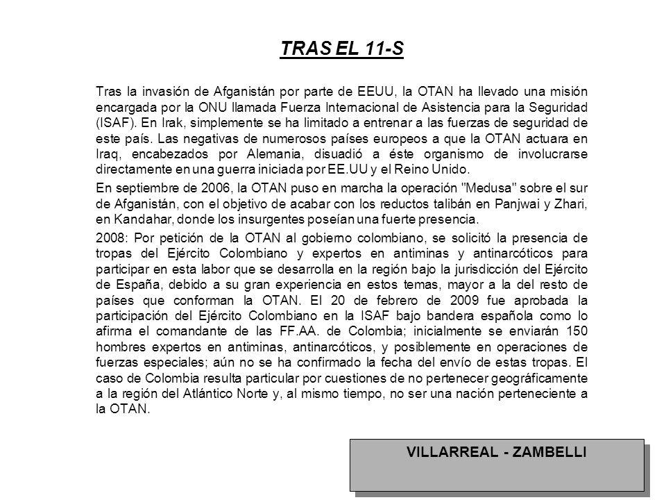 TRAS EL 11-S VILLARREAL - ZAMBELLI