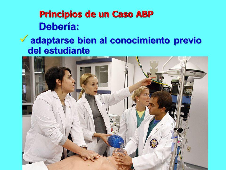 Principios de un Caso ABP