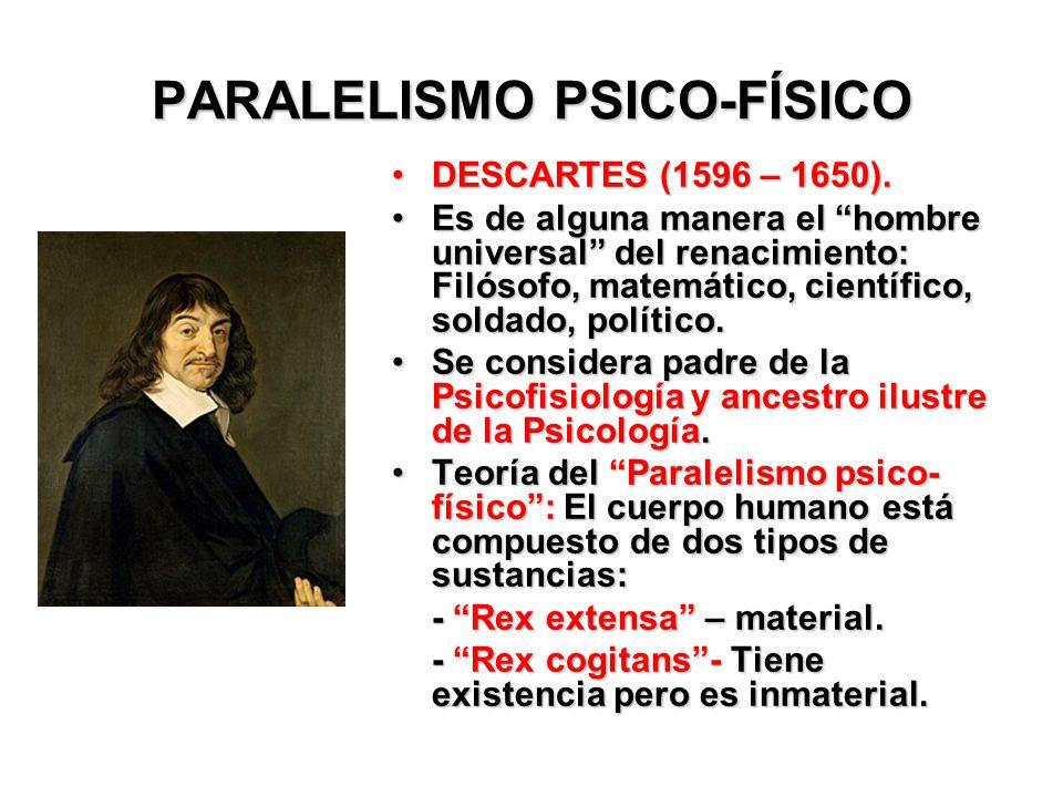 PARALELISMO PSICO-FÍSICO