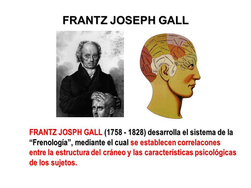 FRANTZ JOSEPH GALL